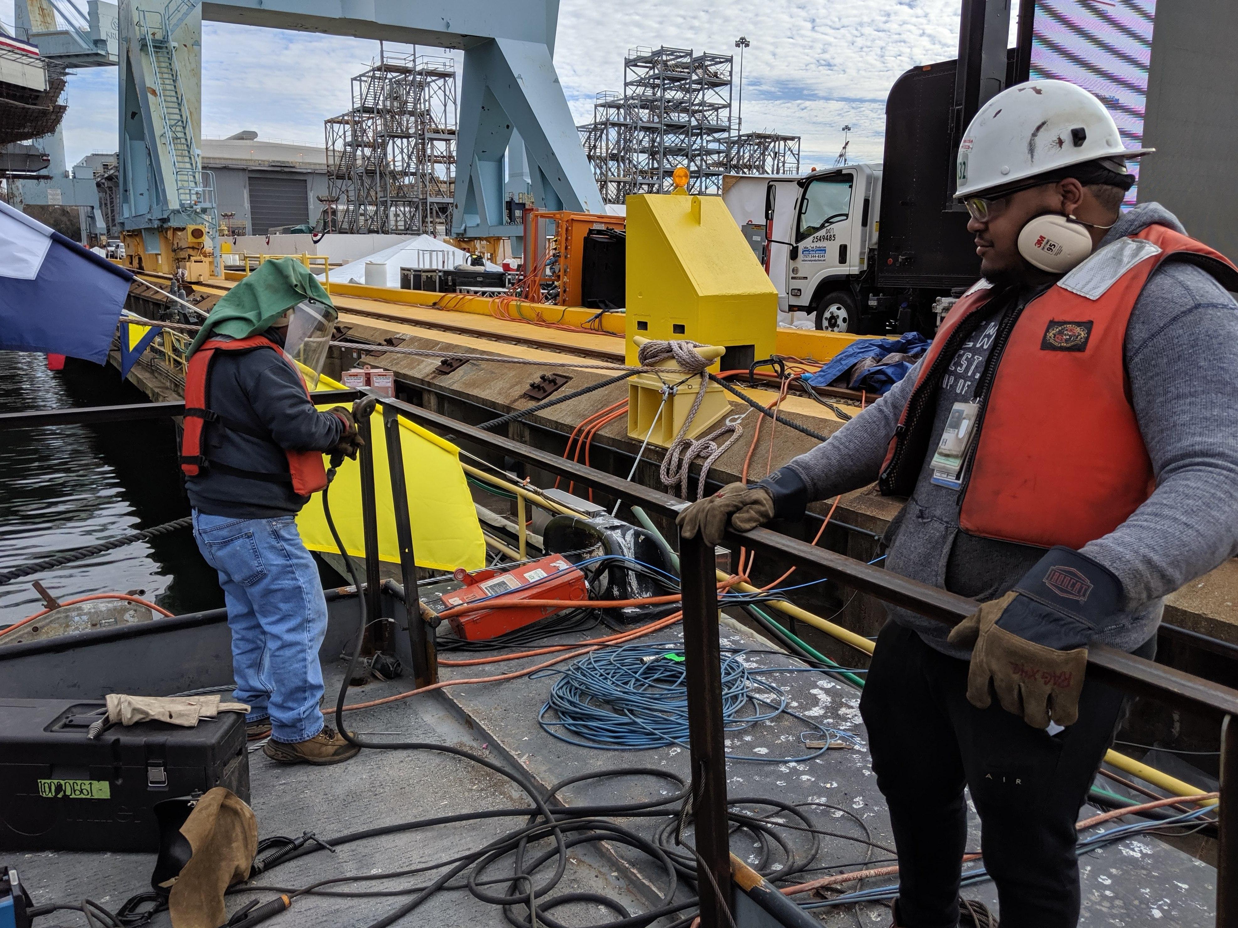 A Day For Shipbuilders: Caroline Kennedy Christens The USS John F. Kennedy