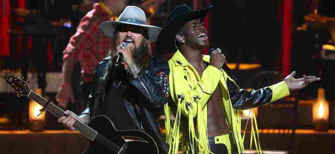 Lil Nas X and Billy Ray Cyrus.