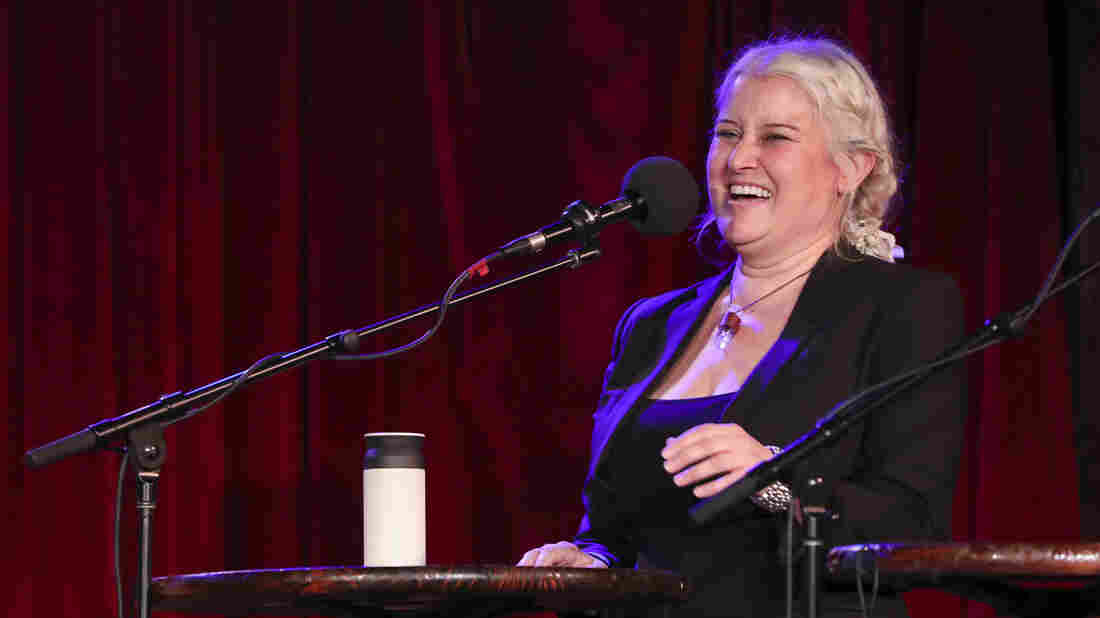 Paula Cole appears on Ask Me Another at the Bell House in Brooklyn, New York.