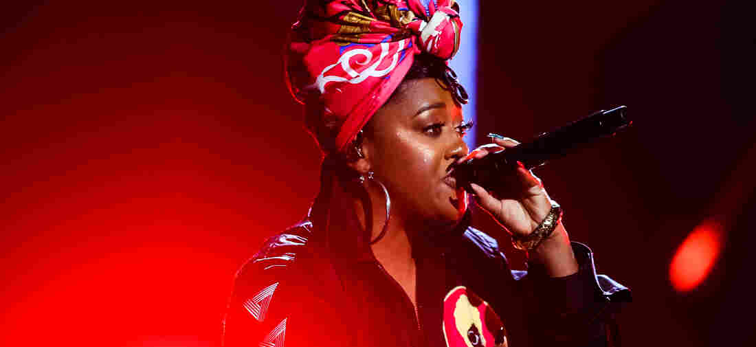 Rapsody performs onstage at the BET Hip Hop Awards 2019 at Cobb Energy Center on October 5, 2019 in Atlanta, Georgia.
