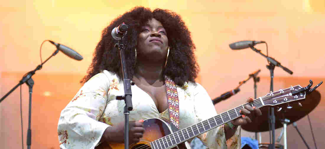 Yola performs at Live On The Green at Public Square Park on August 15, 2019 in Nashville, Tennessee.