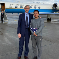American Student Xiyue Wang Freed In U.S.-Iran Prisoner Swap