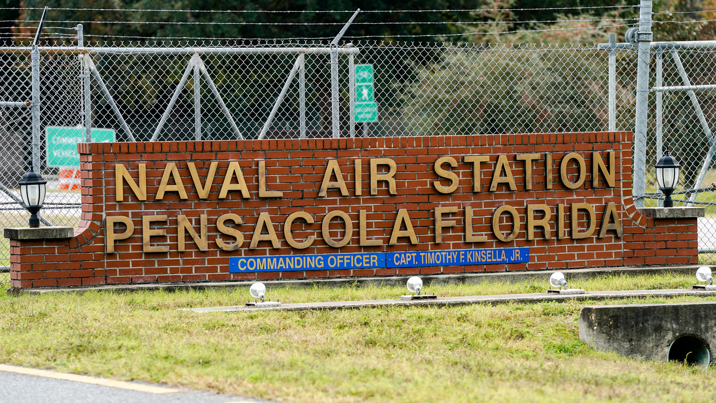 Victim In Pensacola Naval Base Shooting Dreamed Of Being A Navy Jet Pilot : NPR