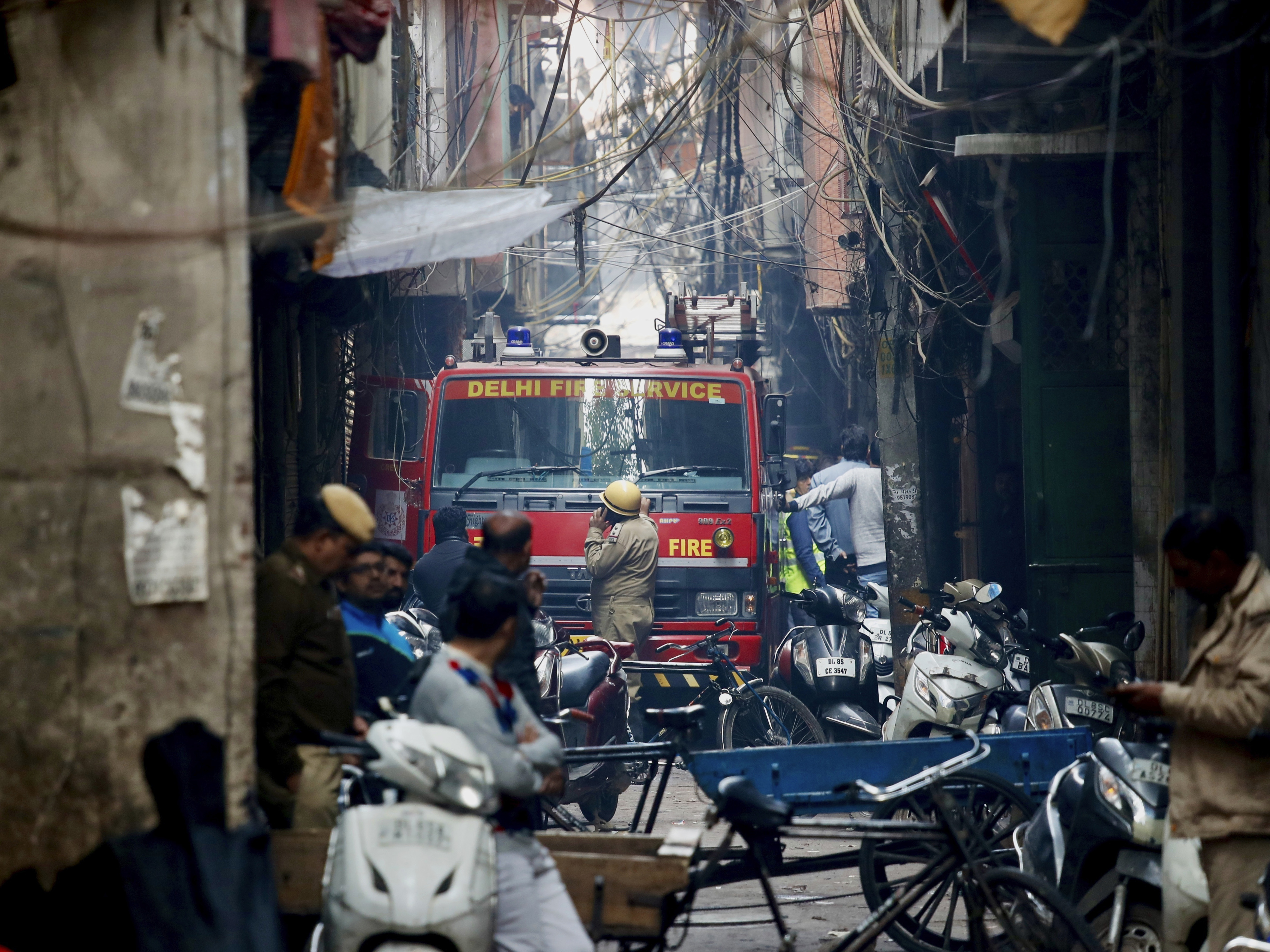 43 Dead In 'Extremely Horrific' Fire At New Delhi Factory