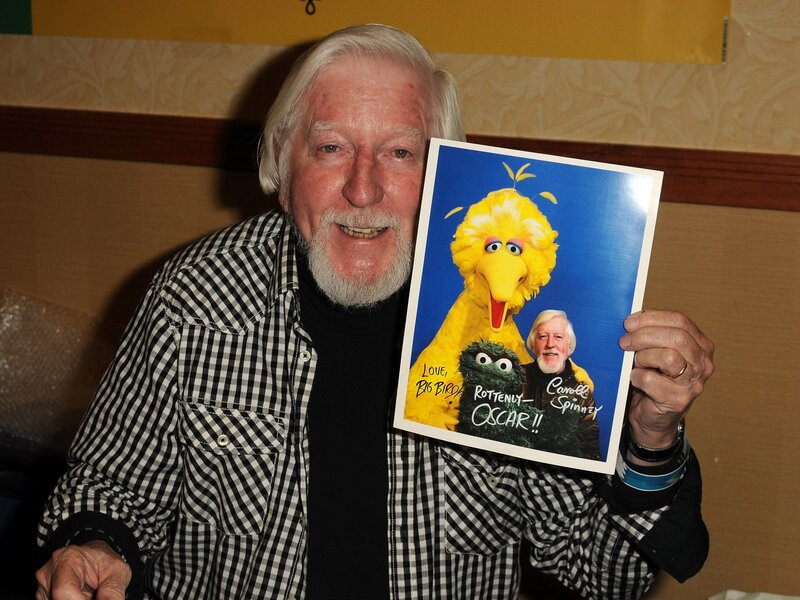 Caroll Spinney Who Played Big Bird And Oscar On Sesame