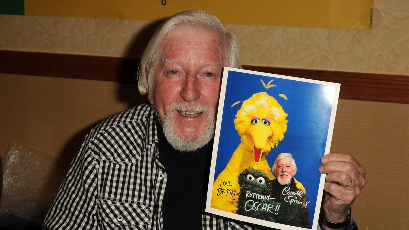 Caroll Spinney, Who Played Big Bird And Oscar On 'Sesame Street,' Dies At 85 - NPR image