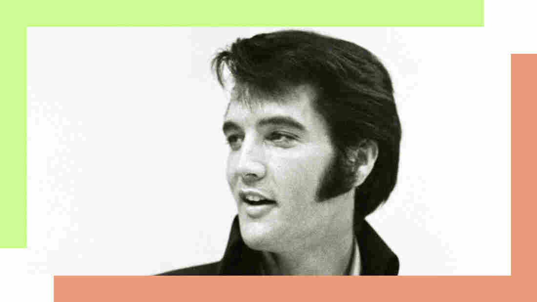 Elvis Presley seen before his first performance at the International Hotel in Las Vegas on Aug. 1, 1969.