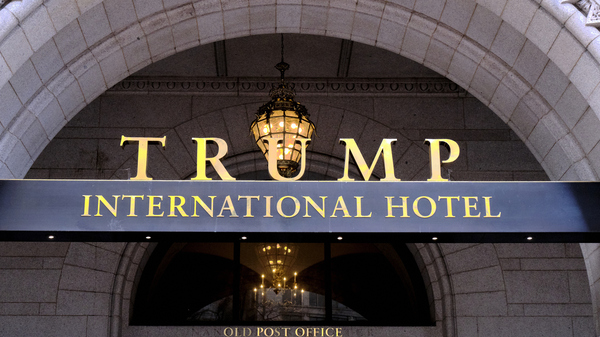 Trump International in Washington D.C. A federal appeals court on Monday heard arguments in a lawsuit filed by more than 200 Democratic lawmakers that President Trump not seeking Congressional approval in his overseas private business dealing violated the Constitution.