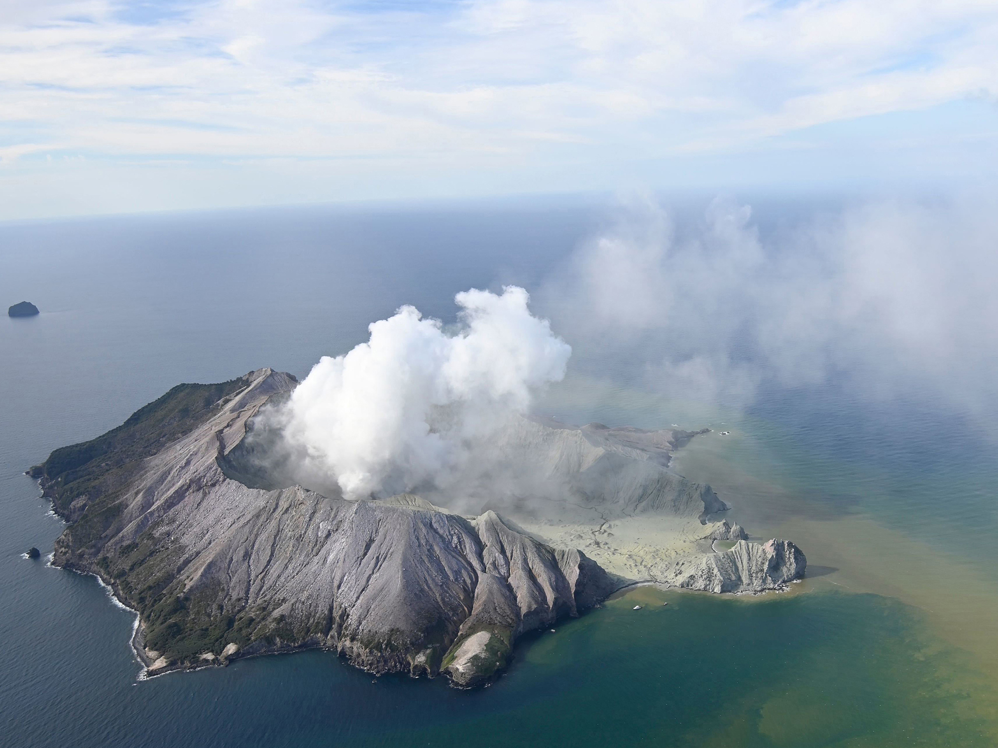 At Least 5 Dead After Volcano Erupts Off New Zealand Coast