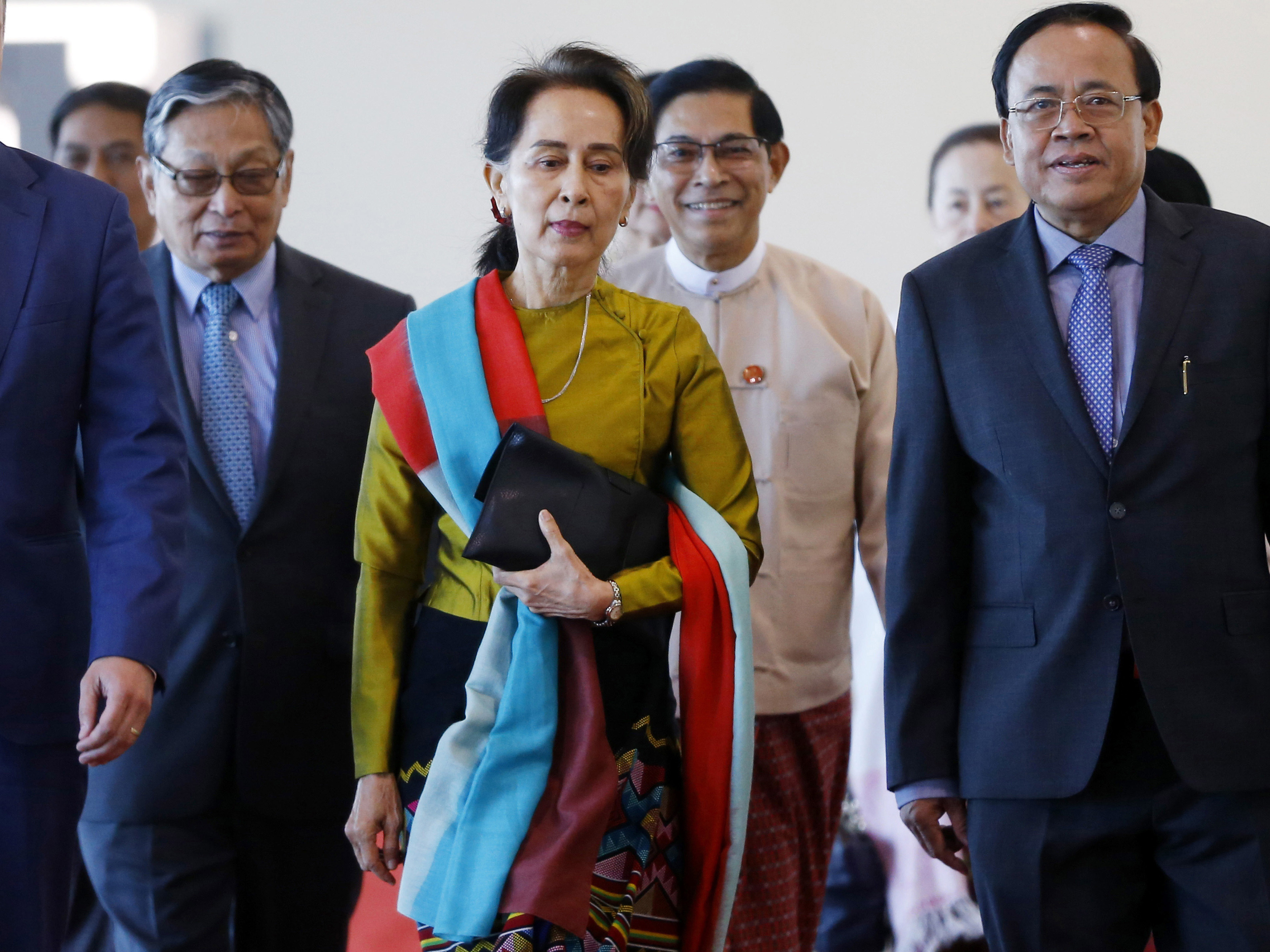 Myanmar's Suu Kyi In Hague To Defend Against Rohingya Genocide Charges
