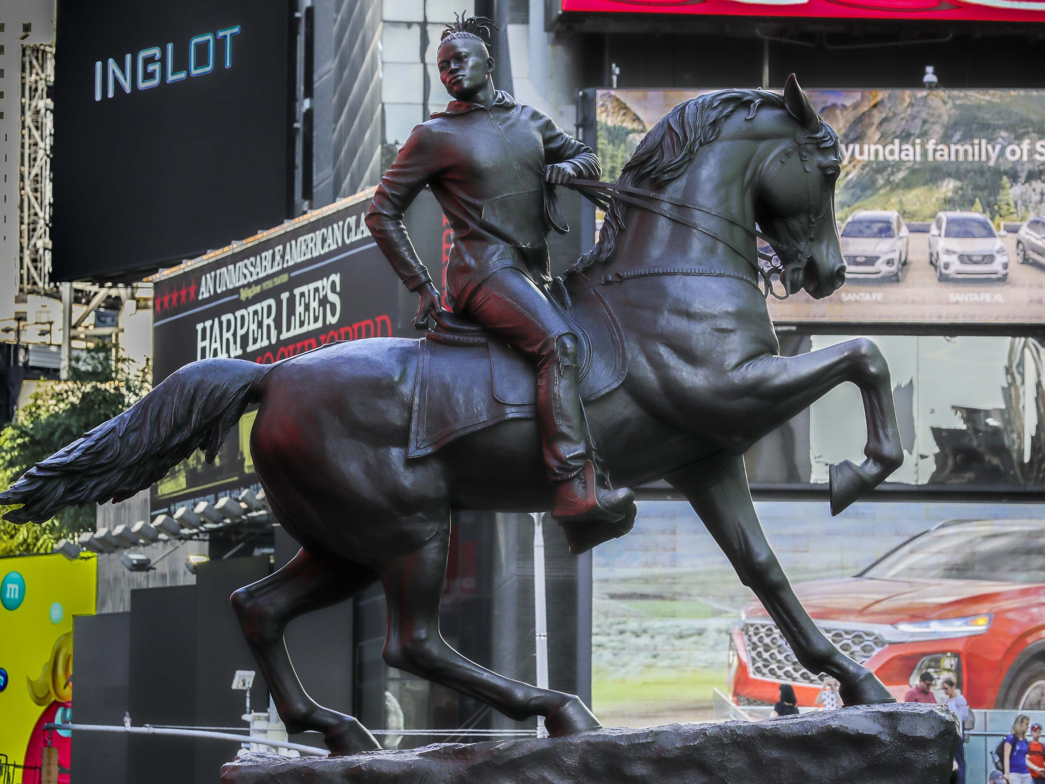 New Statue Unveiled In Response To Richmond's Confederate Monuments