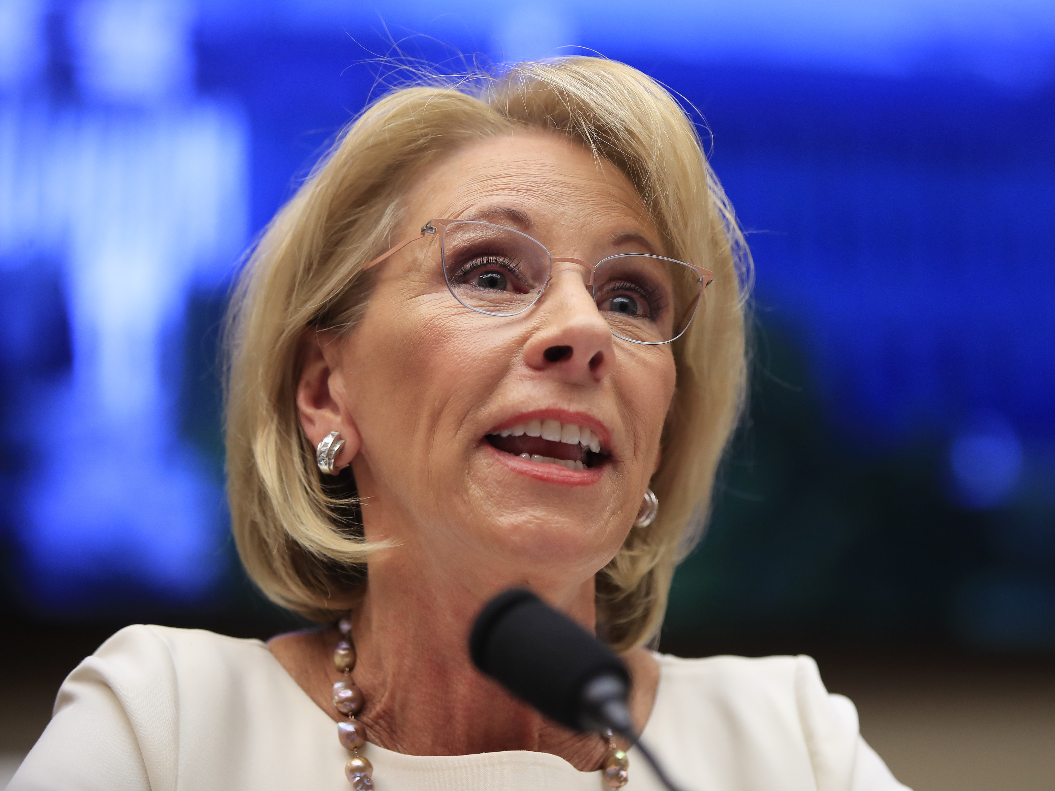 Democratic Bill Aims To Block Title IX Rule Changes Pushed By Trump Administration