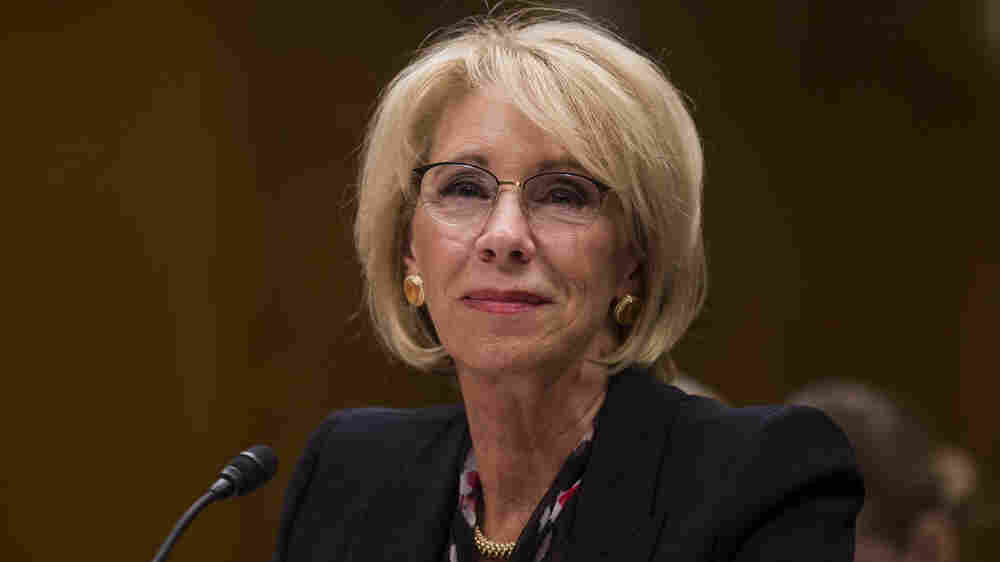 Betsy DeVos Overruled Education Dept. Findings On Defrauded Student Borrowers