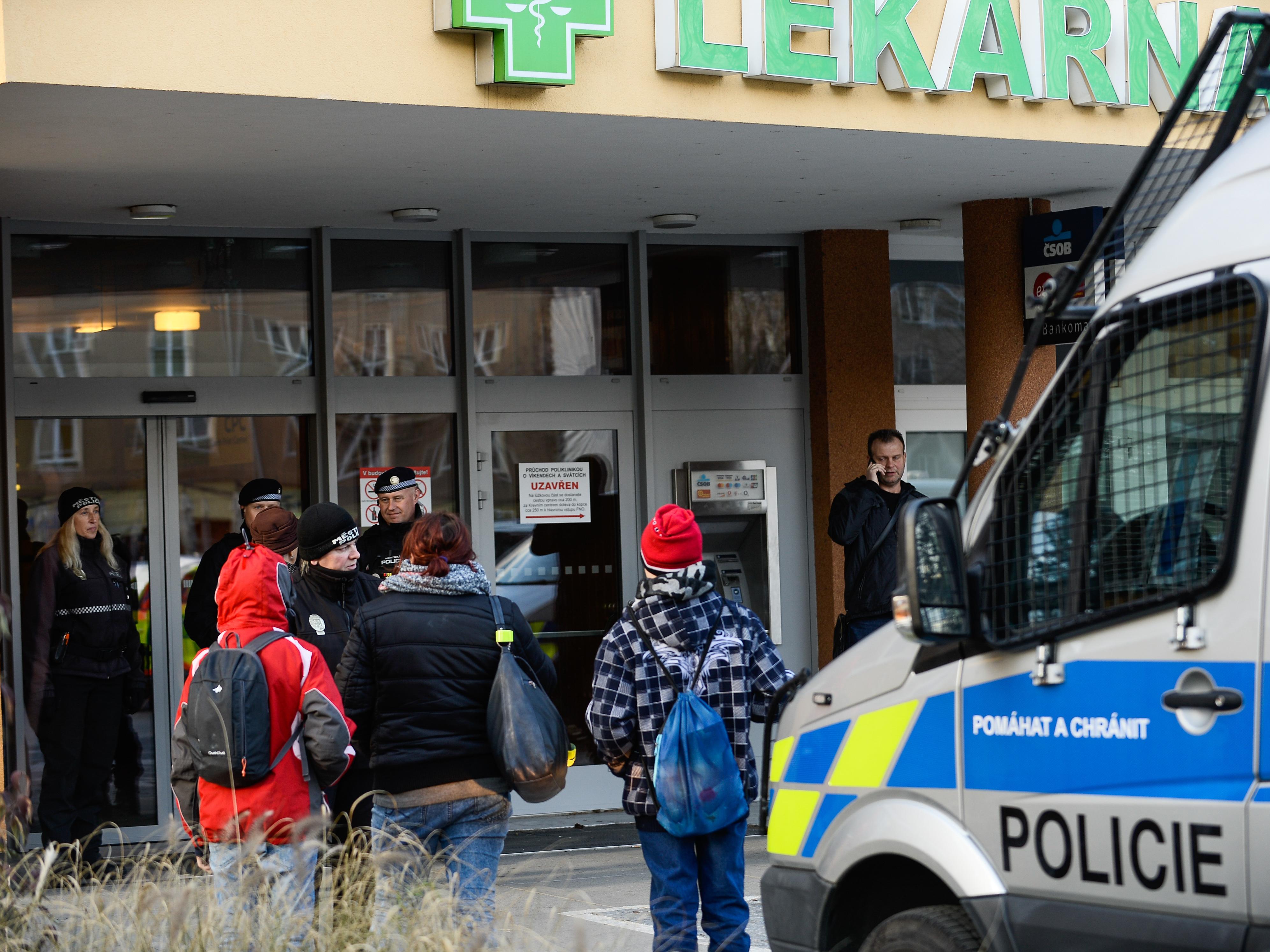 Gunman Kills 6 In Attack Inside Czech Hospital's Waiting Room