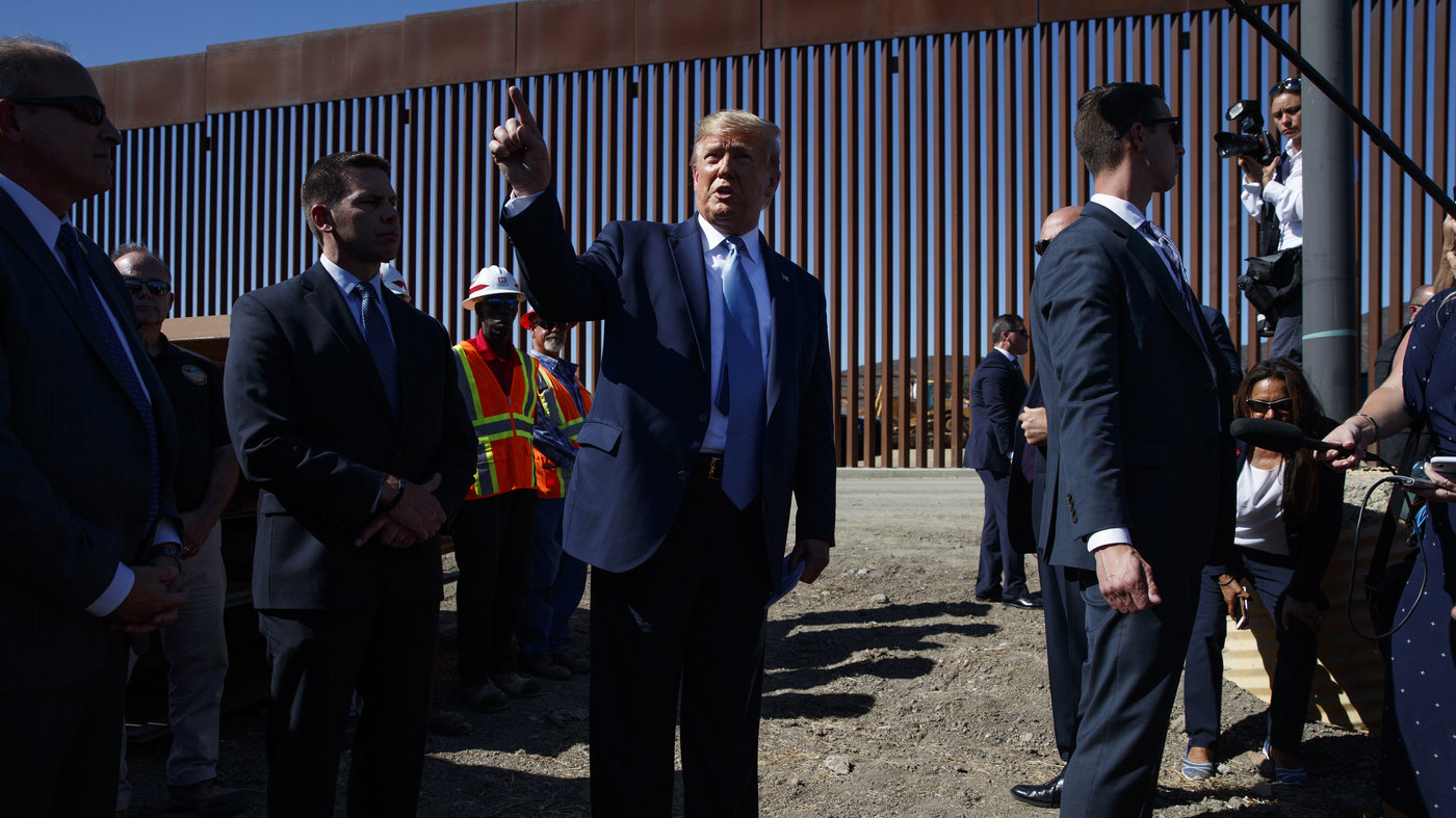 Second Federal Judge Blocks Plan To Use Pentagon Funds For Border Wall