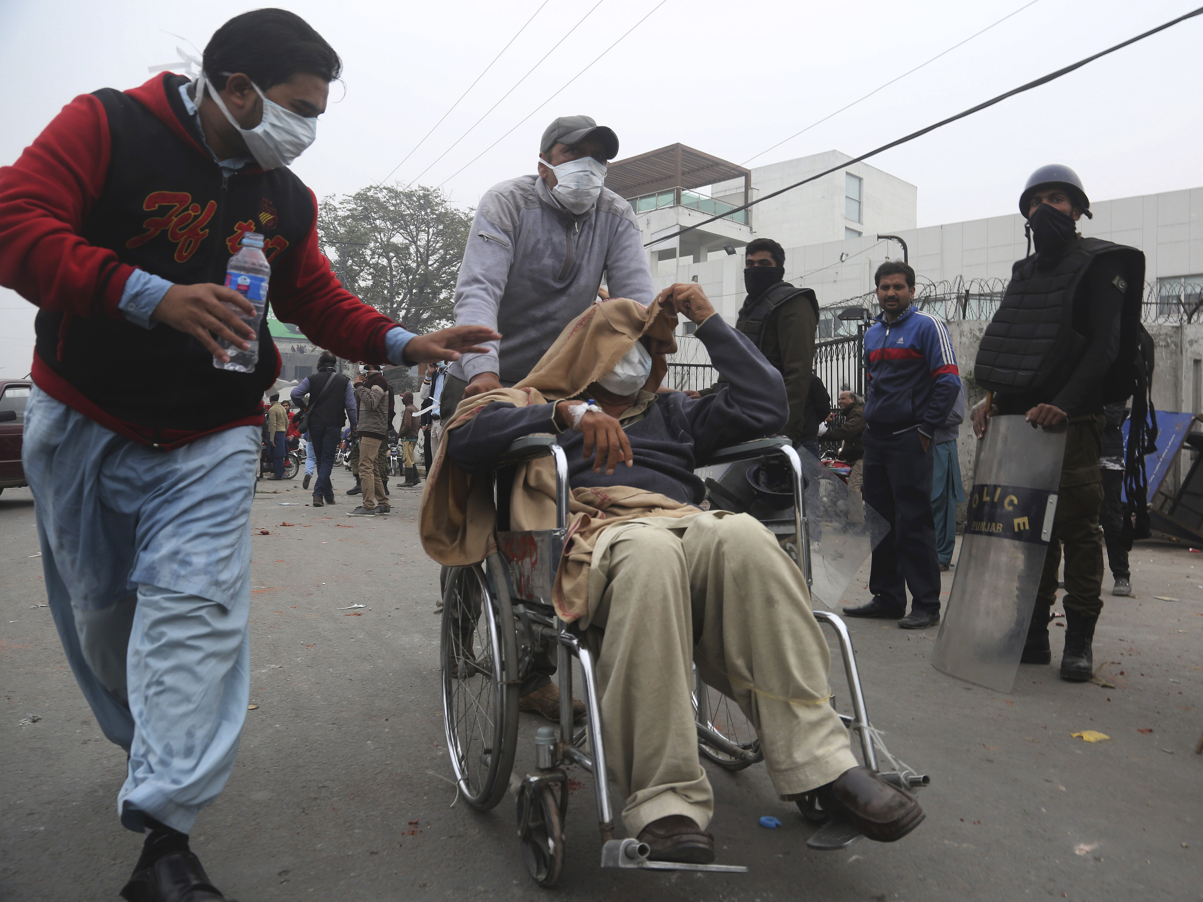 In Pakistan, Angry Mob Of Lawyers Attacks Hospital, Causing