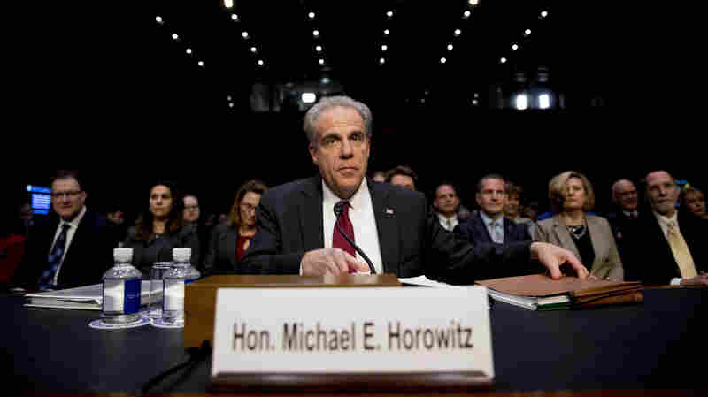 DOJ Inspector General Tells Congress His Report Does Not 'Vindicate Anybody'