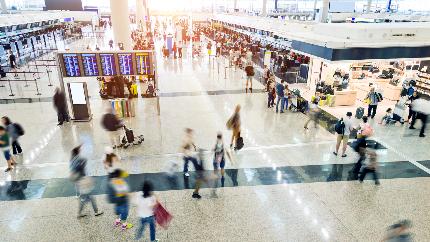 Study Finds Airport Security Trays Carry Germs For Cold And Flu - NPR