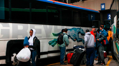 D.C. Sues Greyhound For Idling Buses Too Long, Leading To More Air Pollution