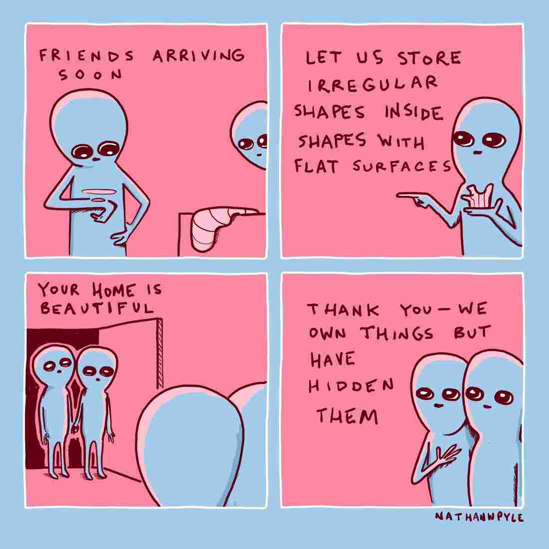 From Strange Planet, by Nathan Pyle
