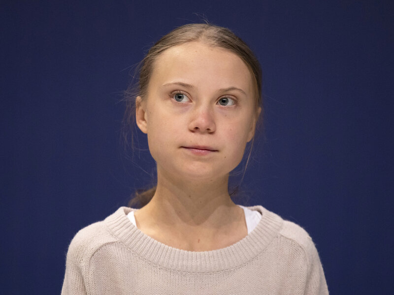 After Greta Thunberg Wins Time Honor Trump Suggests She Chill And Watch A Movie Npr