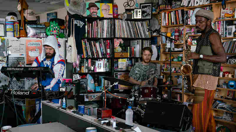 The Comet Is Coming: Tiny Desk Concert