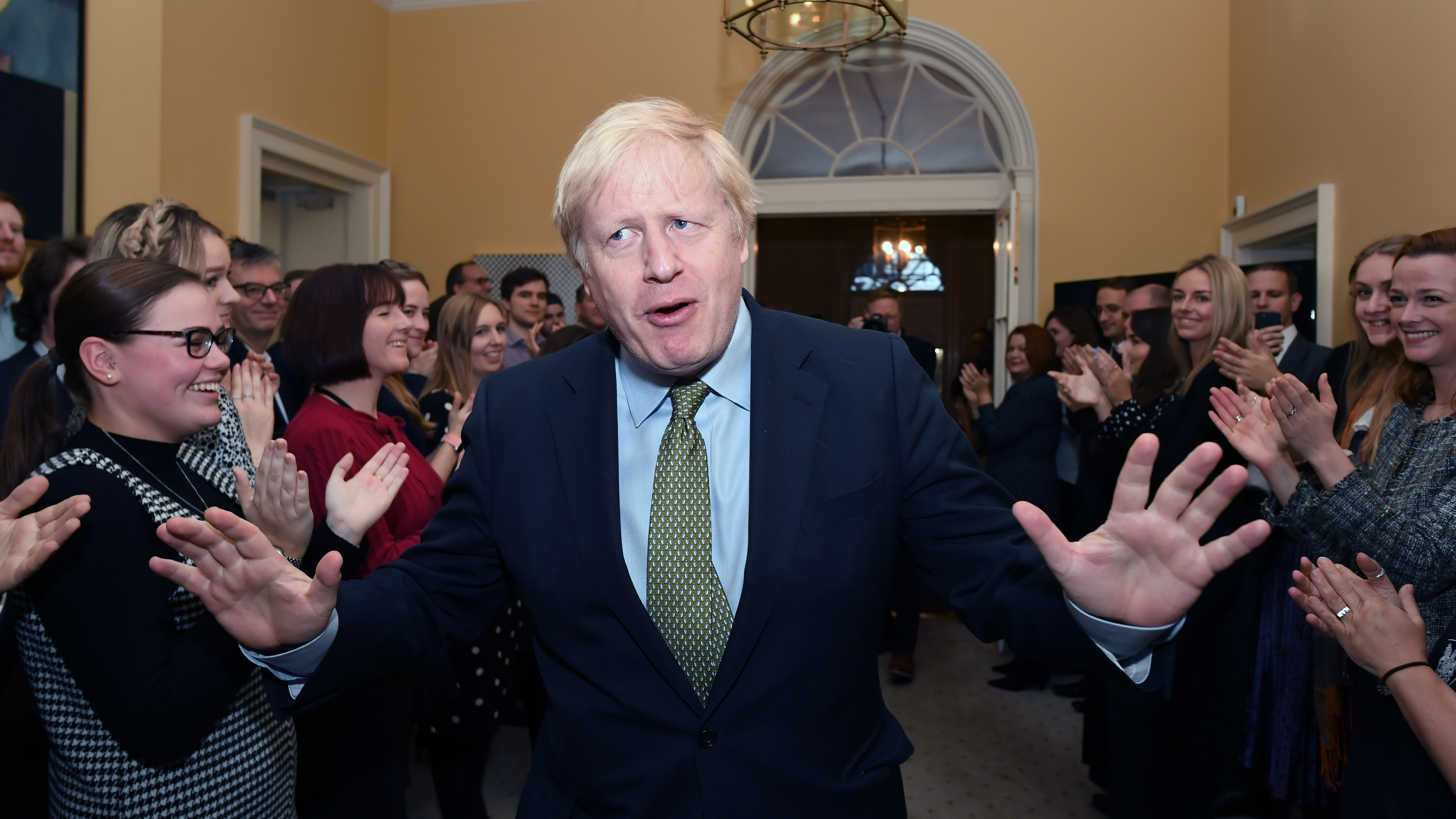 Boris Johnson And Conservative Party Win Large Majority In U.K. Parliament