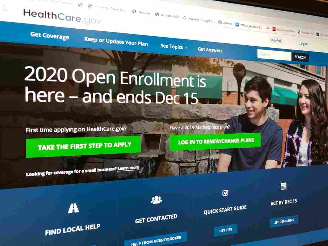 open enrollement 946f09dfaad895b4ae079f6f251110defe9bf3db s1100 c15 - December 15 Deadline To Sign Up For 2020 Health Care Coverage : NPR
