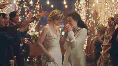 Facing Backlash, Hallmark Channel Says It Will 'Reinstate' Ad Of Lesbian Brides
