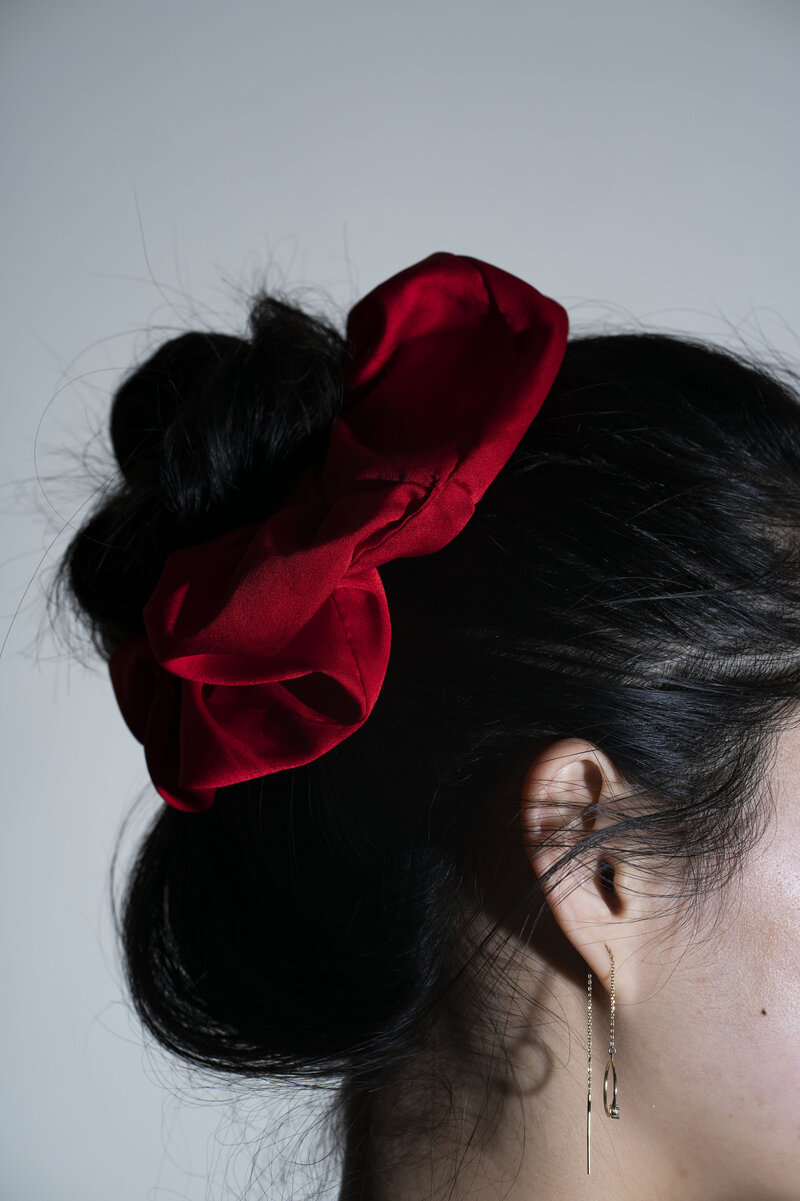 Back to the Future Hair Scrunchie