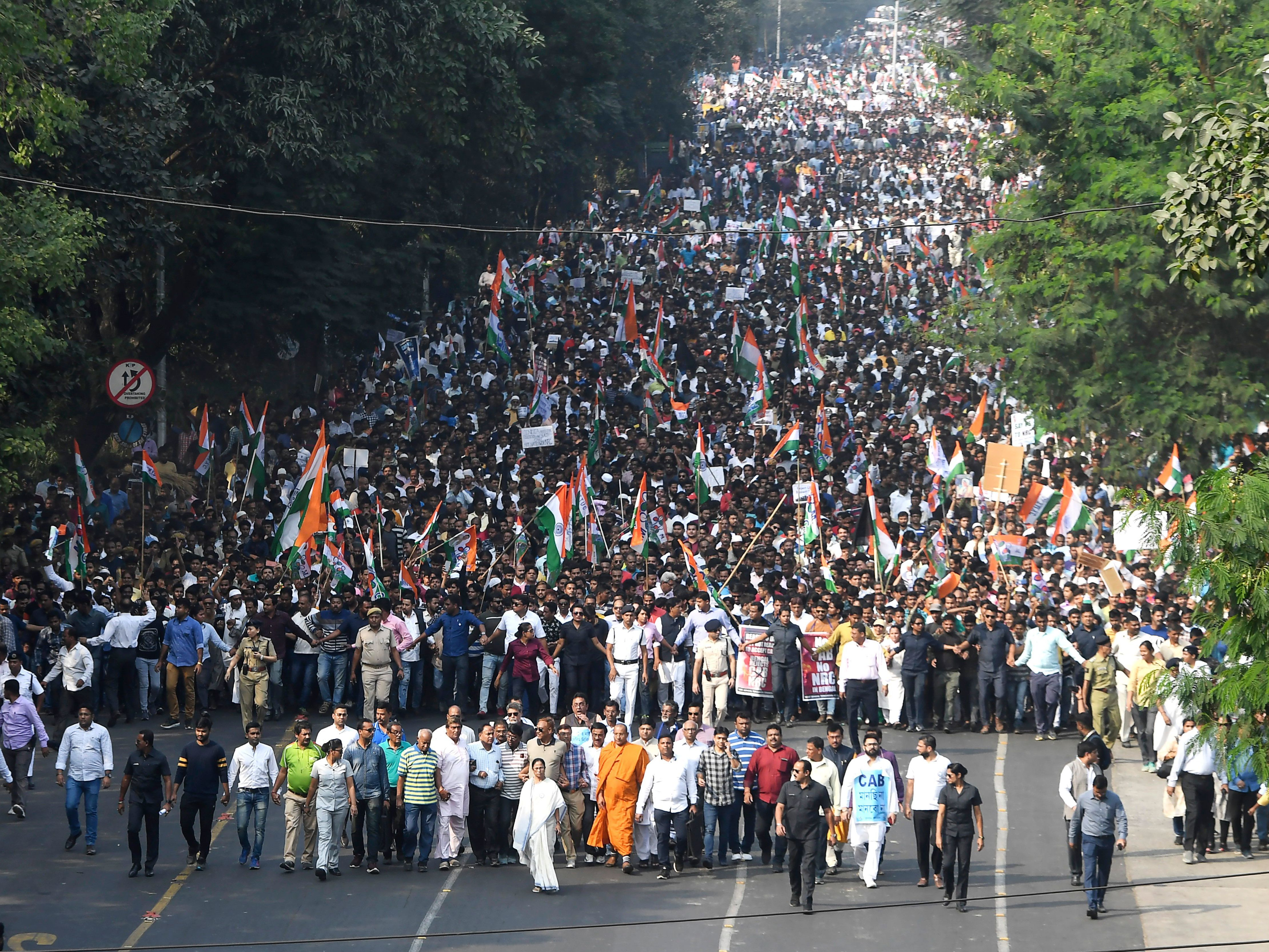India's Citizenship Law Triggers Mass Protests And Violence As Modi Calls For Peace