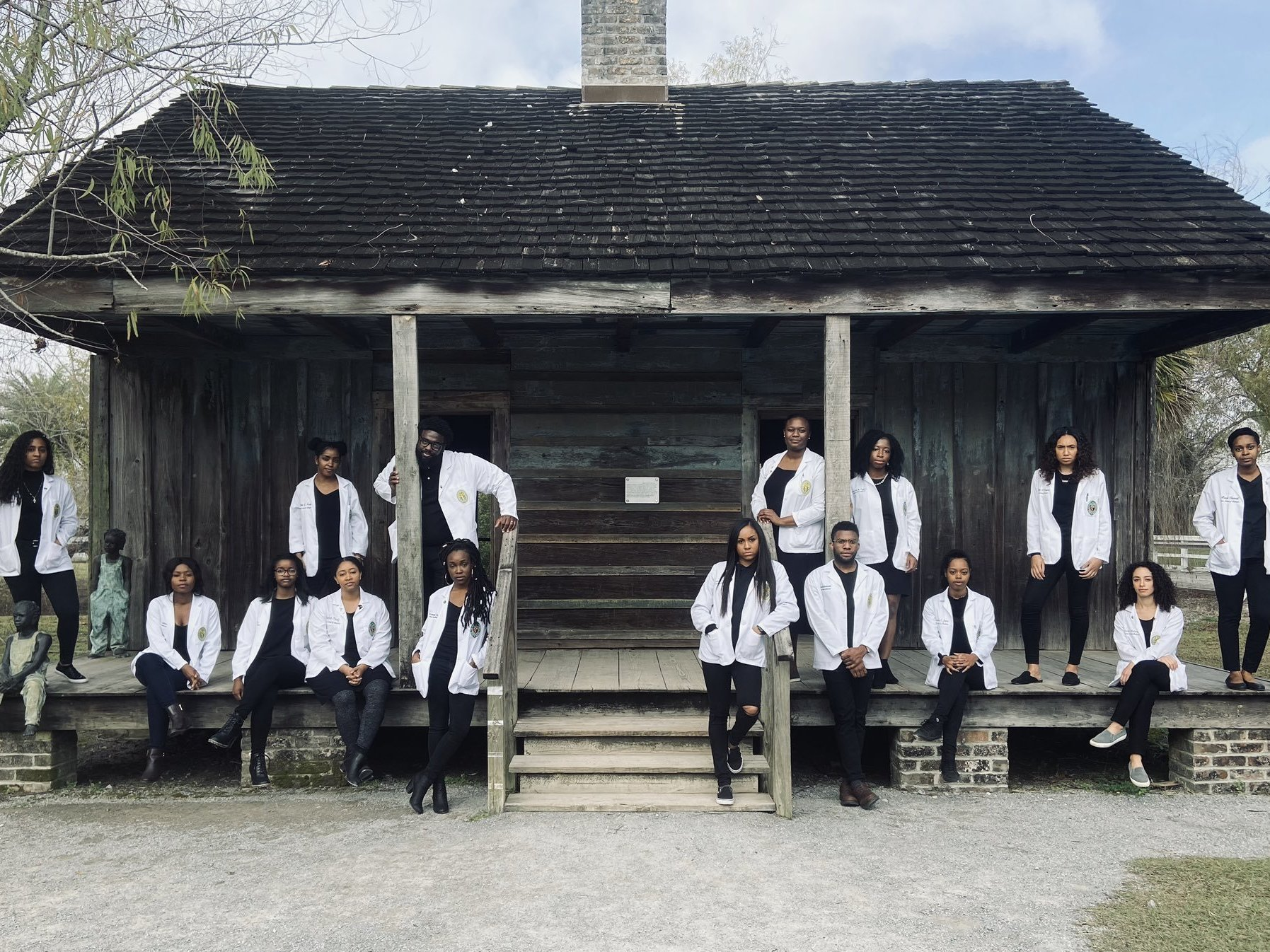 Black Med Students At Former Slave Quarters Say 'This Is About Resiliency'