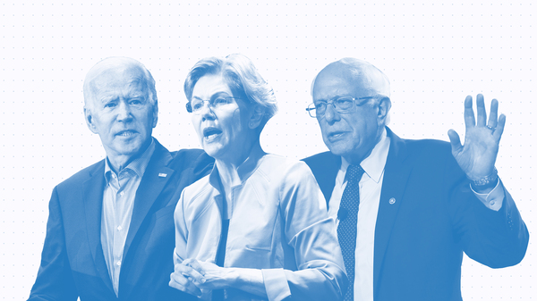 Issue Tracker: Joe Biden, Elizabeth Warren, Bernie Sanders