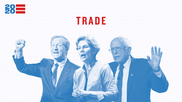 Issue Tracker: Trade — Tom Steyer, Elizabeth Warren, Bernie Sanders