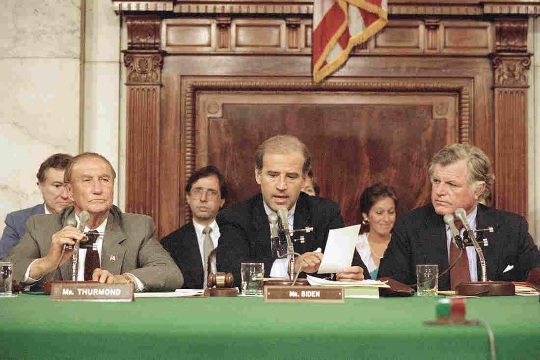 Westlake Legal Group ap_871006062_slide-e3f0fde08d85d229f93fc1a070c832a4f3ebc2cf-s1100-c15 For Joe Biden, 1987 Brought Triumph In The Wake Of Political Setback
