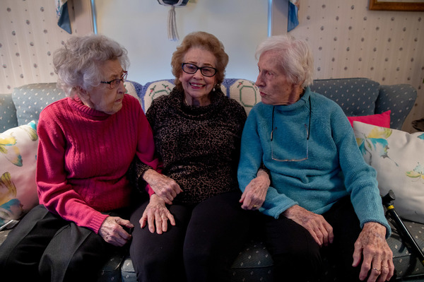 "Dorothy Buchanan, Dorothy Murray and Dorothy Kern — who call themselves ""the three Dots"" — grew up in the same hometown and celebrated their 100th birthdays together this year."