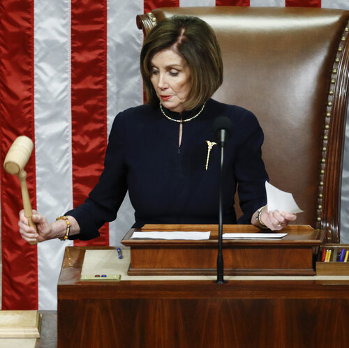 President Trump Impeached By The House In Historic Rebuke