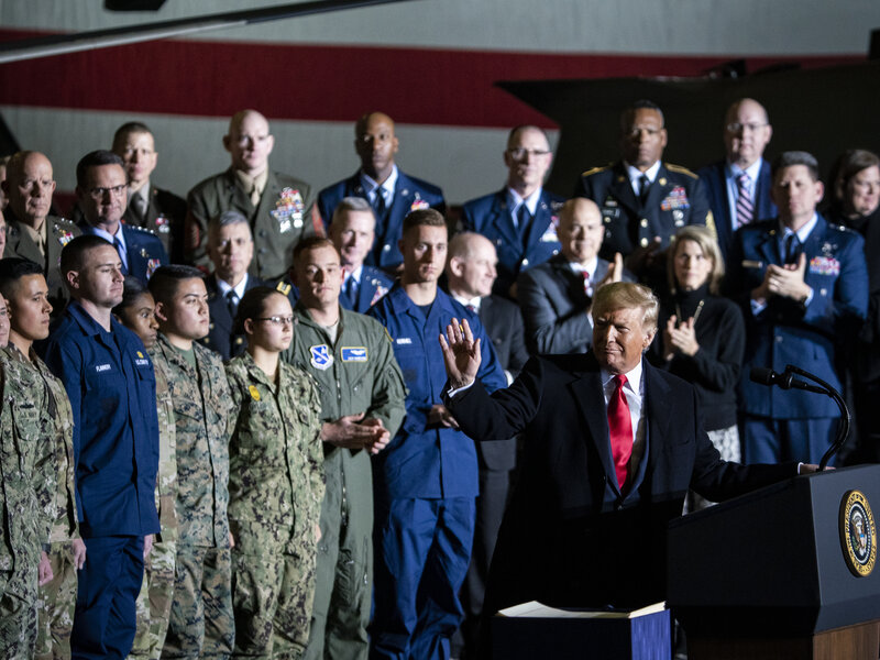 Here's What The Space Force Will Do : NPR