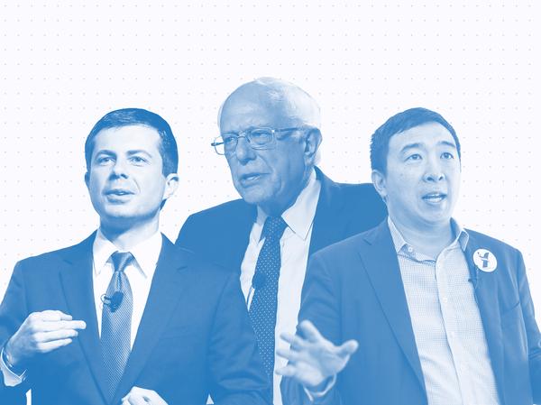 Issue Tracker: Pete Buttigieg, Bernie Sanders, Andrew Yang