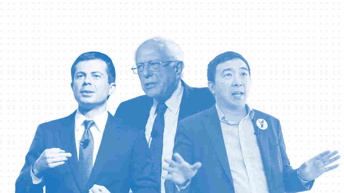 Issue Tracker: Pete Buttigieg, Bernie Sanders, Andrew Yang