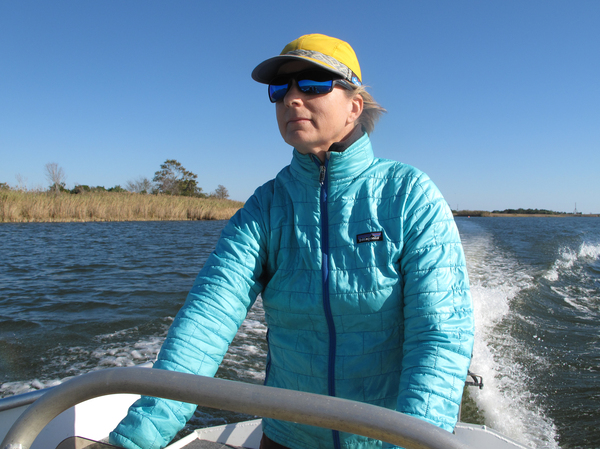 Apalachicola river keeper Georgia Ackerman says the water in Florida's Apalachicola Bay has declined so much that the needs of this local ecosystem are not being met.