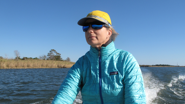 Apalachicola river keeper Georgia Ackerman says the water in Florida