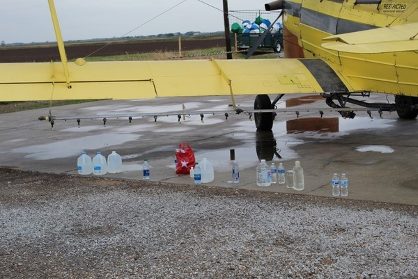 A Roman Catholic church in southwestern Louisiana came up with a novel way to spread the gospel: blessing an entire community by way of crop duster.
