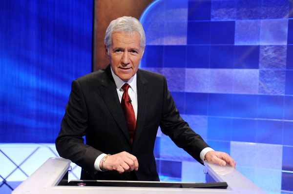 "Trebek said he hated to see contestants lose for forgetting to phrase their answers as questions. ""I'm there to see that the contestants do as well as they can within the context of the rules,"" he told Fresh Air's Terry Gross in 1987. Above, Trebek poses on the set in April 2010."
