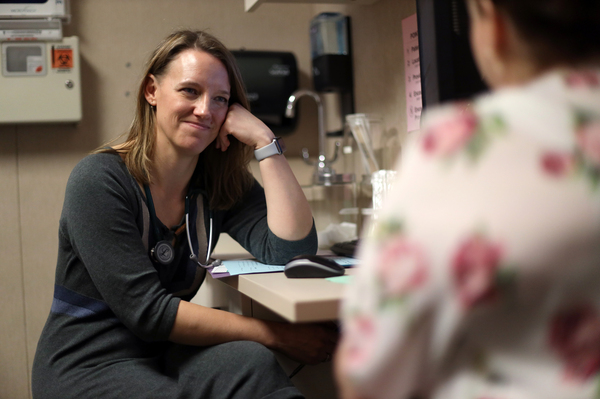 Dr. Angela Gatzke-Plamann is the only full-time physician in Necedah, Wis., and the only physician in Juneau County, Wis., who has the required training to prescribe the addiction medicine buprenorphine.