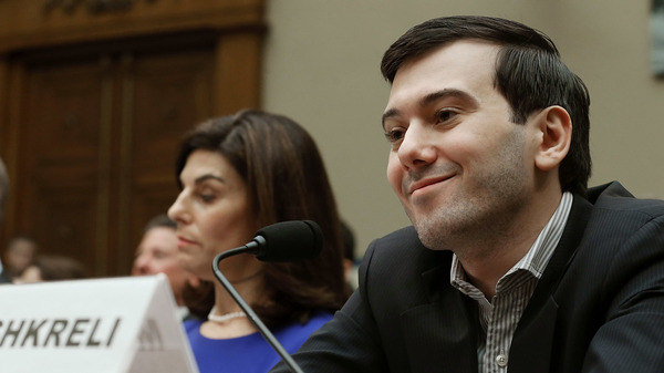 Martin Shkreli, former CEO of Turing Pharmaceuticals, appeared before the House Oversight Committee during a contentious hearing on drug pricing on Feb. 4, 2016.