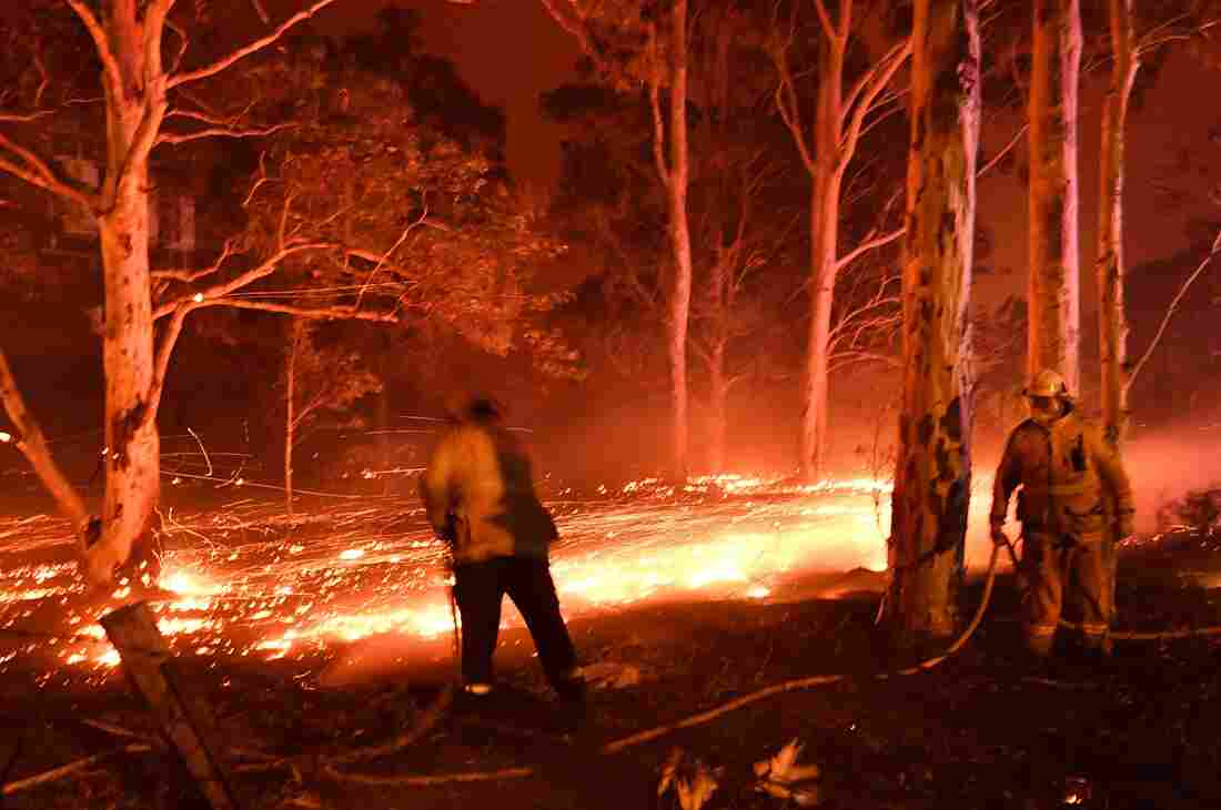 Westlake Legal Group gettyimages-1191093992_custom-c365e401a9bfc90d1864230c82906ca49c98c789-s1100-c15 In Australia Wildfires, Scenes Of Smoke, Sparks And Chaos