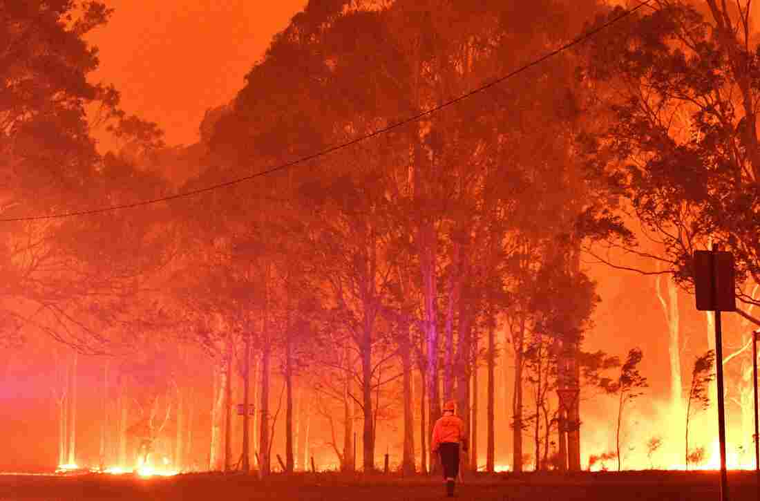 Westlake Legal Group gettyimages-1191100167_custom-e7c5b2dc423549e874cff66ee27bb703f6567e0c-s1100-c15 In Australia Wildfires, Scenes Of Smoke, Sparks And Chaos