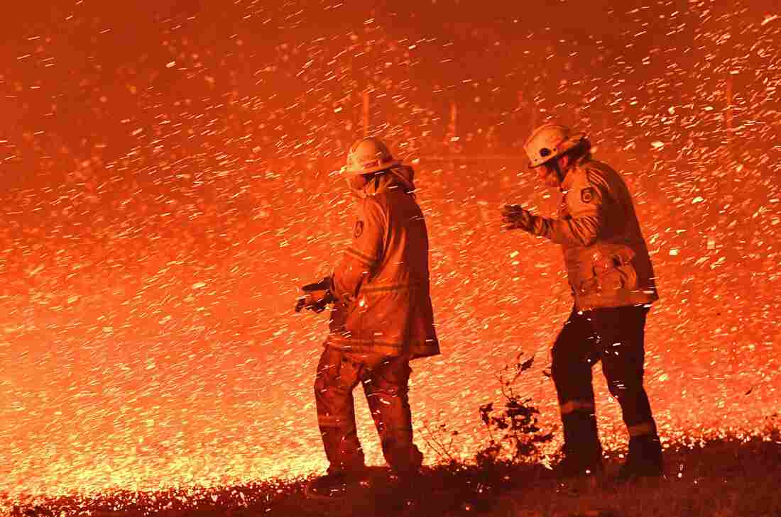 Westlake Legal Group gettyimages-1191119032_custom-e40edec1b7d31f78879efa524a2cb24149da2b21-s1100-c15 In Australia Wildfires, Scenes Of Smoke, Sparks And Chaos