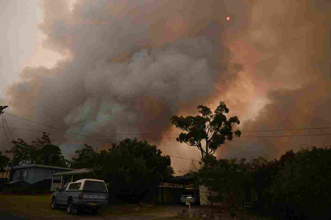 Westlake Legal Group gettyimages-1191130657_custom-1a548691073ffe26cf5ed2caa7345d2c8b1f7c77-s1100-c15 In Australia Wildfires, Scenes Of Smoke, Sparks And Chaos